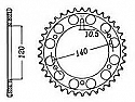 499-42 REAR SPROCKET CARBON STEEL
