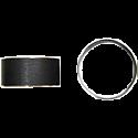 FORK BUSHINGS OD 41.00mm x ID 37.10mm x W 12.00mm x T 1.95mm (PAIR)