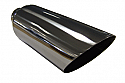 "TAIL PIPE JAP TYPE 4"" Slash Cut Jap Style Tail 101mm (4 inch) Slash Cut Jap Style Tail. 300mm Length. 58mm inlet"