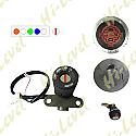RIEJU RS2 50cc NKR IGNITION SWITCH LOCK SET INC. PETROL CAP