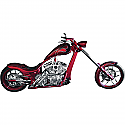 H/D FLH, FLHR, FLHS CUSTOM EXHAUST WITH SLASH CUT TIPS FOR RIGHT SIDE DRIVE MODELS HD