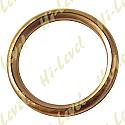 EXHAUST GASKET COPPER OD 34mm, ID 25.50mm, THICKNESS 4mm