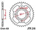 218-44 REAR SPROCKET CARBON STEEL