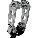 ROX SPEED FX 127 MM PIVOTING HANDLEBAR RISER FOR 22 MM BAR CLAMPS - ALUMINUM ELITE NATURAL