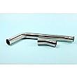 "HONDA CBR600 RR 2007-12 HEAVY DUTY DE-CAT EXHAUST TO SILENCER LINK PIPE 50.8mm (2"")"