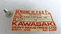 Kawasaki NOS NEW 221B0614 Screw 6x14 C2 F11 F12MX G3 G4 G5 KD KE KH 1967-2001