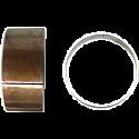FORK BUSHINGS OD 43.60mm x ID 41.60mm x W 15.00mm x T 1.00mm (PAIR)