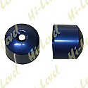 HONDA VTR1000F BAR END COVER BLUE