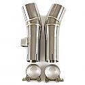 Triumph Bonneville T100 (09-14) LINK PIPES (PAIR)