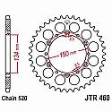 460-50 REAR SPROCKET CARBON STEEL