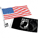 KURYAKYN VERTICAL FLAG MOUNT WITH FLAG