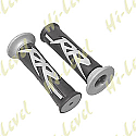 """GRIPS RACE RS BLACK/GREY TO FIT 7/8"""" HANDLEBARS"""