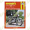 HONDA CB250, HONDA 350 TWINS 1968-1974 WORKSHOP MANUAL