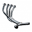HONDA CBR1100XX BLACKBIRD 96-09 STAINLESS 4-2 EXHAUST DOWNPIPES OEM COMPATIBLE