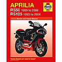 APRILIA RS50, APRILIA RS125 1993-2005 WORKSHOP MANUAL