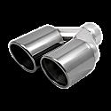 Astro 3.5 Inch Twin Staggered Black Chrome (RH)