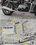 KAWASAKI Z440 LTD (1980-85) PREDATOR  2-1 System Road in S/STEEL