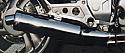 Honda NTV650 REVERE PREDATOR SILENCER  ROAD WITH R/BAFFLE S/STEEL