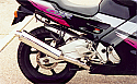 HONDA CBR600FS, FW 94-97 (PC31A) PREDATOR 4-1 System Road in S/STEEL