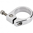 """BILTWELL INC. 1.75"""" EXHAUST PIPE ALUMINUM CLAMP POLISHED"""