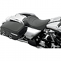 HARLEY DAVIDSON FLHR SEAT SOLO FRONT SOLO VINYL BLACK A