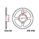 1796-51 REAR SPROCKET CARBON STEEL