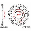 1303-43 REAR SPROCKET CARBON STEEL