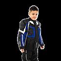 VIPER DRACO KIDS MOTORCYCLE JACKET BLACK/BLUE