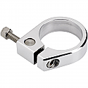 """HARLEY DAVIDSON 1.75"""" EXHAUST PIPE ALUMINUM CLAMP POLISHED"""