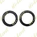 FORK DUST SEAL 43mm x 54mm PUSH IN TYPE 5.50mm/13mm (PAIR)