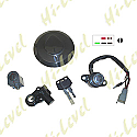 HONDA CB125TDC, E, J 1982-1988 (6 WIRES) IGNITION SWITCH LOCK SET