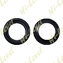 FORK DUST SEAL 33mm x 45mm PUSH IN TYPE 4mm/10.50mm (PAIR)