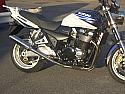 SUZUKI GSX1400 (01-08) PREDATOR SILENCERS ROAD WITH R/BAFFLES IN S/STEEL (PAIR)