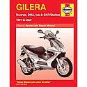 GILERA RUNNER, DNA, ICE/SKP/STALKER (1997-2007) WORKSHOP MANUAL
