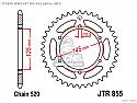 855-47 REAR SPROCKET CARBON STEEL