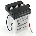 MOTORCYCLE BATTERY 6N4-2A-5 BUDGET 6V