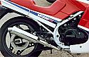 Honda VF400, VF400F PREDATOR 4-1 System Road in S/STEEL