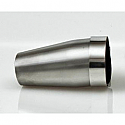 SPARK CONIC ADAPTER Ø 60 TO 40MM LENGTH 110 MM STAINLESS STEEL