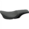 HARLEY DAVIDSON SEAT PREDATOR 2-UP VINYL BLACK
