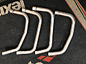 KAWASAKI ZR550 ZEPHER SET OF X4 DOWNPIPES IN S/S 2 ON 2 CONFIGURATION