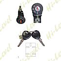 PEUGEOT BUXY, ZENITH (5 PIN) IGNITION SWITCH & SEAT LOCK