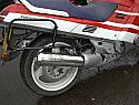 HONDA CBR1000FH, FJ (87-88) PREDATOR ROAD SILENCERS in S/STEEL