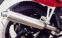 HONDA CBR954RR 954cc SC50 (02-04) PREDATOR ROAD SILENCER S/STEEL