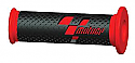 COMPETITION BAR GRIPS MOTO GP RED/BLACK  (PAIR)