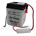 MOTORCYCLE BATTERY 6N4-2A-7 BUDGET 6V