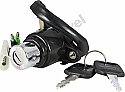 HONDA C50, C70 STYLE OFFSET MOUNTING (4 WIRES) IGNITION SWITCH
