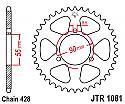 1081-46 REAR SPROCKET CARBON STEEL