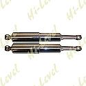 HONDA C50 CUB, C70 CUB, C90 CUB SHOCKS 335MM PIN+PIN COVERED (PAIR)