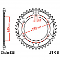 6-41 REAR SPROCKET CARBON STEEL