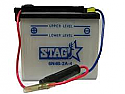 MOTORCYCLE BATTERY 6N4B-2-A4 BUDGET 6V